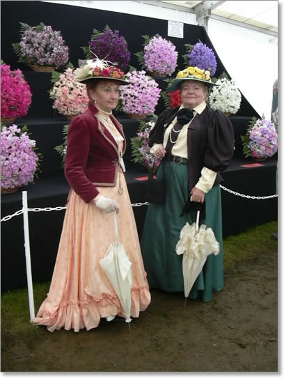 Victorian Times at Tatton park Flower Show in 2008